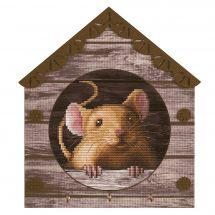 Kit de support à broder - Nova Sloboda - Petite souris