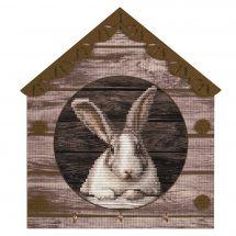 Kit de support à broder - Nova Sloboda - Petit lapin