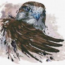Kit point de croix - Ladybird - Le salut du faucon