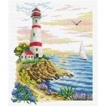 Kit point de croix - Ladybird - Cap du phare