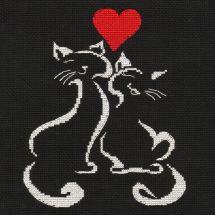 Kit point de croix - Oven - L'amour