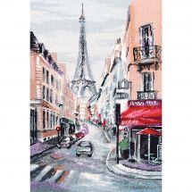 Kit point de croix - Oven - Coeur de Paris