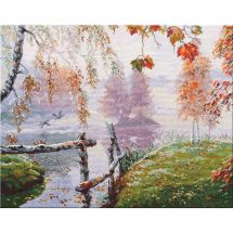 Kit point de croix - Oven - Le souffle d'automne