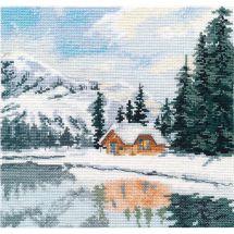 Kit point de croix - Oven - Lac Louise