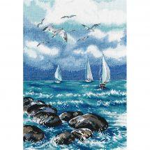 Kit point de croix - Oven - Le mer