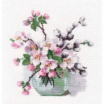 Kit point de croix - Oven - Parfum de printemps