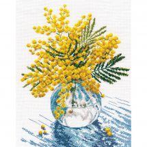 Kit point de croix - Oven - Mimosa