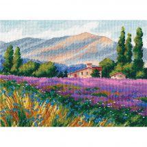 Kit point de croix - Oven - L'âme de la Provence