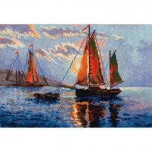 Kit point de croix - Oven - Navire