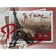 Kit de broderie avec perles - Panna - Paris