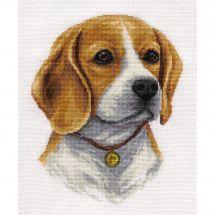 Kit point de croix - Panna - Beagle