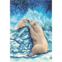 Kit point de croix - Panna - Ours polaires