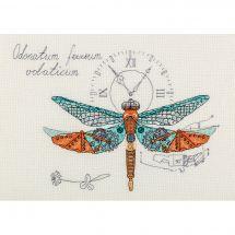 Kit point de croix - Panna - Mécanique de la libellule