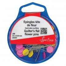 Accessoire Patchwork - Sew Easy - Epingles à quilting x 60
