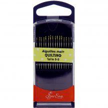 Aiguilles à coudre - Sew Easy - Aiguilles quilting main - Tailles 8-9
