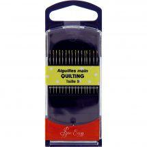 Aiguilles à coudre - Sew Easy - Aiguilles quilting main - Taille 9