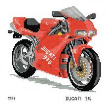 Kit point de croix - Luc Créations - Ducati 916