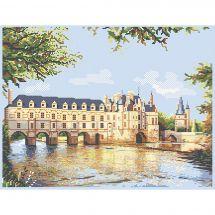 Kit point de croix - Luc Créations - Le château de Chenonceau