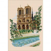Kit point de croix - Luc Créations - Notre-Dame-de-Paris