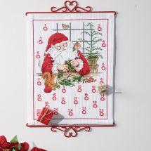 Kit point de croix - Permin - Calendrier de l'Avent - Atelier du Père Noël
