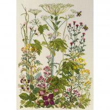 Kit point de croix - Permin - Herbes sauvages