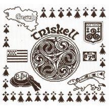 Kit point de croix - Philomène - Triskell