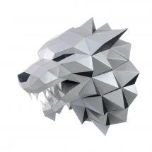 Puzzle 3D - Wizardi - Tête de loup