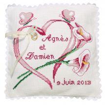 Kit de coussin à broder - Princesse - Mariage