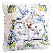 Kit de coussin à broder - Princesse - Le registre