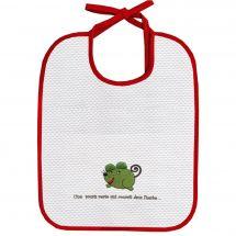 Kit de bavoir à broder - Princesse - Bavoir à broder - une souris verte