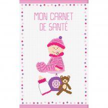 Kit de protège carnet à broder - Princesse - Bébé fille