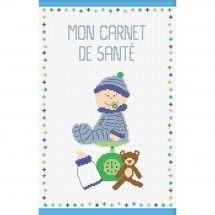 Kit de protège carnet à broder - Princesse - Bébé garçon