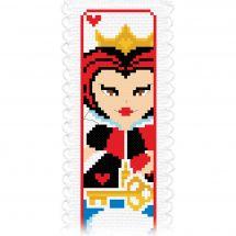 Kit de marque-pages à broder - Princesse - Au pays des merveilles