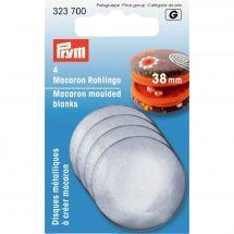 Renforts pour sac - Prym - 4 Disques métalliques à créer
