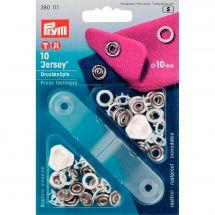 Boutons pression - Prym - Kit boutons pression Jersey - 10 mm