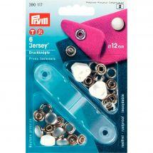 Boutons pression - Prym - Kit boutons pression Jersey - 12 mm
