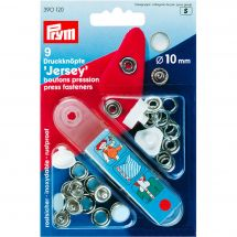 Boutons pression - Prym - Kit boutons pression Jersey - 10mm