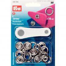 Boutons pression - Prym - Kit boutons pression Jersey - 18 mm
