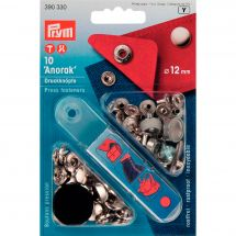Boutons pression - Prym - Kit boutons pression Anorak - 12 mm