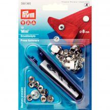 Boutons pression - Prym - Kit boutons pression Mini - 8 mm