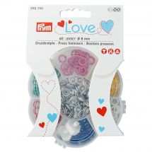Boutons pression - Prym - Assortiment boutons pression Jersey - 8 mm