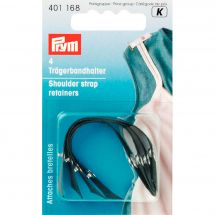 Accessoire lingerie - Prym - Attaches bretelles noirs