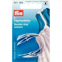 Accessoire lingerie - Prym - Attaches bretelles blancs