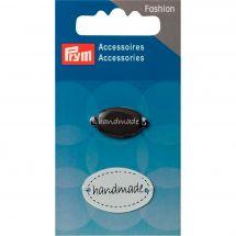 Décoration - Premax - 2 pins Handmade à coudre - noir/banc