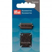 Décoration - Prym - 2 pins Handmade à coudre - gris