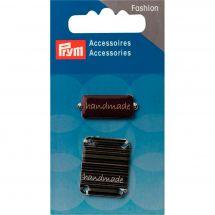 Décoration - Prym - 2 pins Handmade à coudre - brun