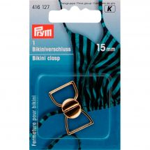 Accessoire lingerie - Prym - Clip pour bikini doré - 15 mm