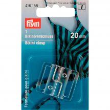 Accessoire lingerie - Prym - Fermeture pour bikini transparent - 20 mm