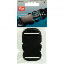 Boucles et clips - Prym - Bouclip noir - 30 mm
