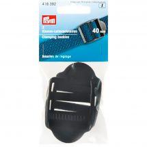 Boucles et clips - Prym - Boucles de réglage noires - 40 mm
